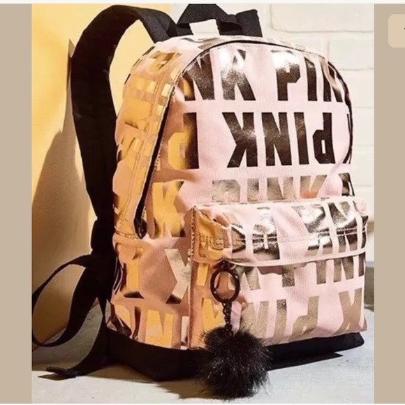 7b4b1c3f485f NWT Victoria s Secret Pink Backpack